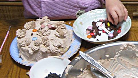 手作りケーキ8