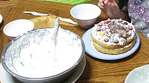 手作りケーキ9